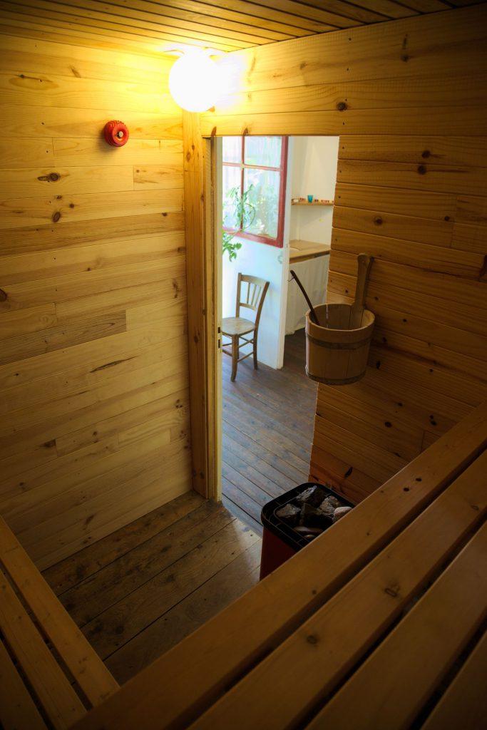 gîte sauna