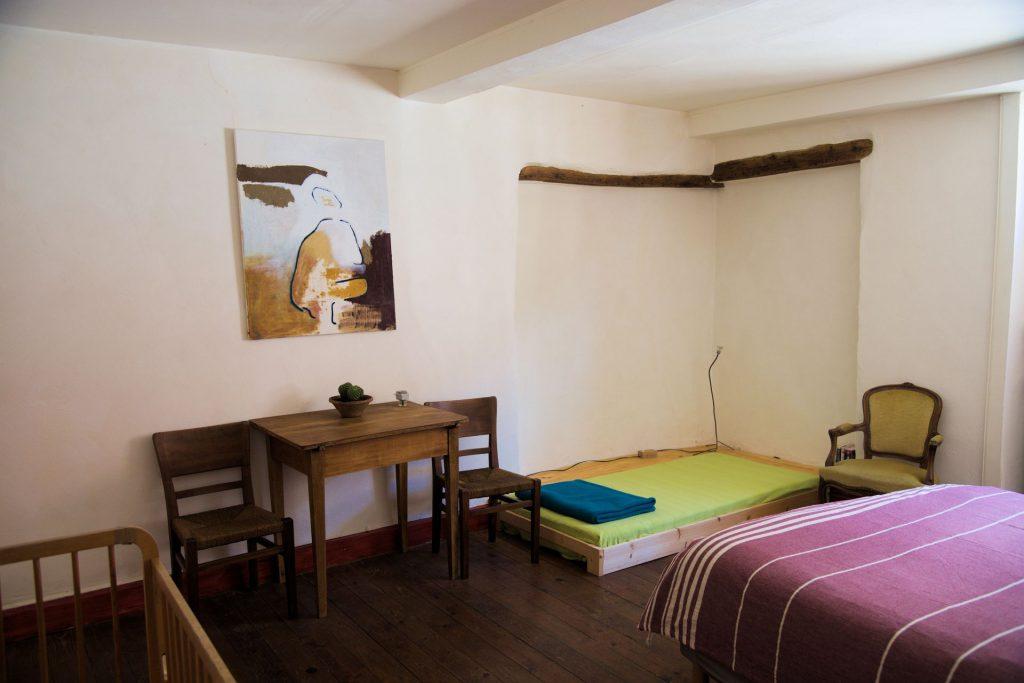 gîte small room