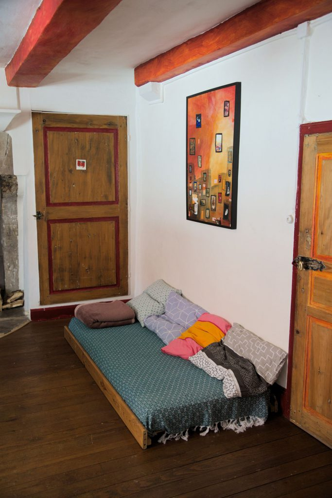 gîte big room single bed