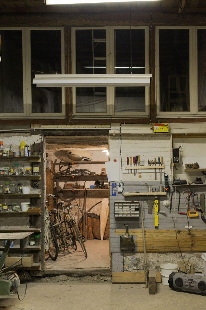 Big workshop backside
